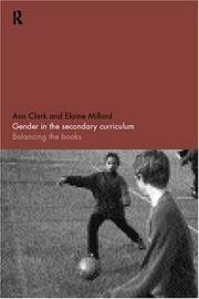 Cover of: Gender in the Secondary Curriculum | Ann Clark