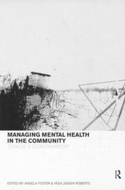Cover of: Managing Mental Health Care in the Community