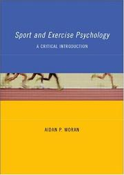 Cover of: Sport and Exercise Psychology