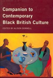 Cover of: Companion to contemporary Black British culture by