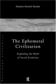 Cover of: The ephemeral civilization