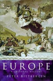 Cover of: Europe