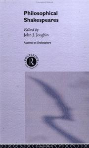 Cover of: Philosophical Shakespeares