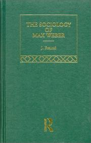 Cover of: Max Weber Classic Monographs V3