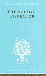 Cover of: The School Inspector
