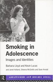 Cover of: Smoking in adolescence