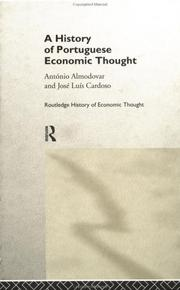 Cover of: A History of Portuguese Economic Thought