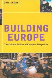 Cover of: Building Europe