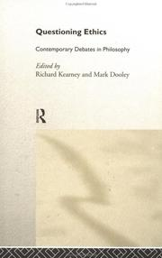 Cover of: Questioning Ethics | R. Kearney