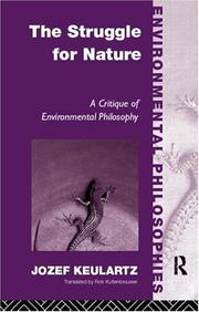 Cover of: Struggle for nature