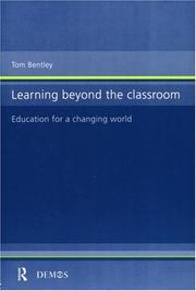 Cover of: Learning beyond the classroom