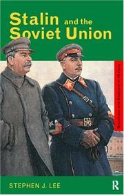 Cover of: Stalin and the Soviet Union