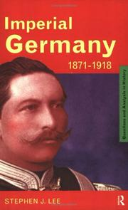 Cover of: Imperial Germany 1871-1918