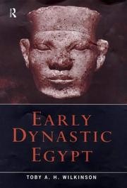 Cover of: Early dynastic Egypt