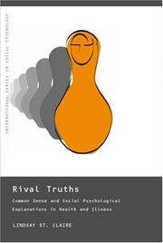 Cover of: Rival truths | Lindsay St Claire
