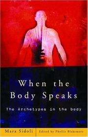 Cover of: When the Body Speaks Hb