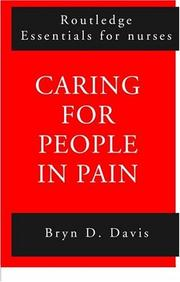 Cover of: Caring for People in Pain