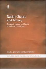 Cover of: Nation-States and Money