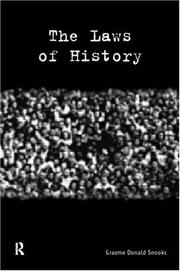 Cover of: The laws of history