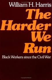 Cover of: The Harder We Run