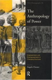 Cover of: The Anthropology of Power
