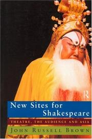Cover of: New sites for Shakespeare
