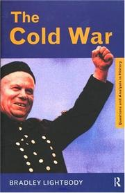 Cover of: The Cold War (Questions and Analysis in History)