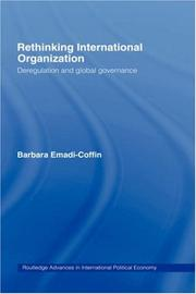 Cover of: Rethinking International Organisation