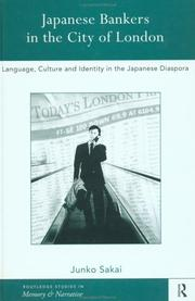 Cover of: Japanese Bankers in the City of London