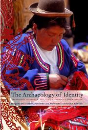 Cover of: ARCHAEOLOGY OF IDENTITY: APPROACHES TO GENDER, AGE, STATUS, ETHNICITY AND...; MARGARITA DIAZANDREU...ET AL