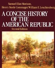 Cover of: A concise history of the American Republic