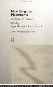Cover of: New Religious Movements | Bryan Wilson