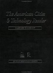 Cover of: The American Cities and Technology Reader | G. Roberts