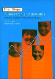 Cover of: First Steps In Research and Statistics