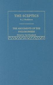 Cover of: The Skeptics (Arguments of the Philosophers)