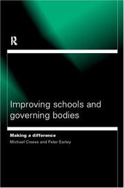 Cover of: Improving schools and governing bodies