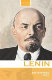 Cover of: Lenin