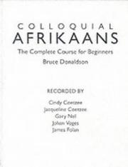 Cover of: Colloquial Afrikaans Cassettes | Bruce Donaldson