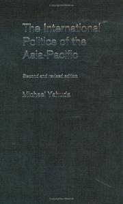 Cover of: The international politics of the Asia-Pacific since 1945