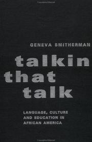 Cover of: Talkin that talk