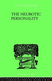 Cover of: The Neurotic Personality | R G GORDON