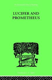 Cover of: Lucifer and Prometheus