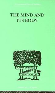 Cover of: The Mind and Its Body