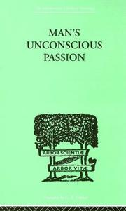 Cover of: Man's Unconscious Passion