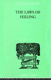 Cover of: The Laws of Feeling