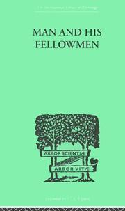 Cover of: Man & His Fellowmen