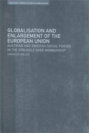 Cover of: Globalisation and Enlargement of the European Union