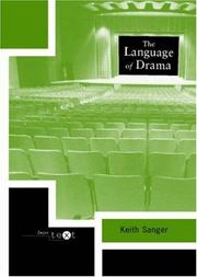 Cover of: The language of drama