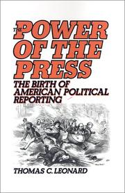 Cover of: The Power of the Press