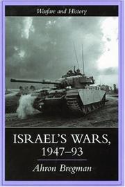 Cover of: Israel's Wars, 1947-1993